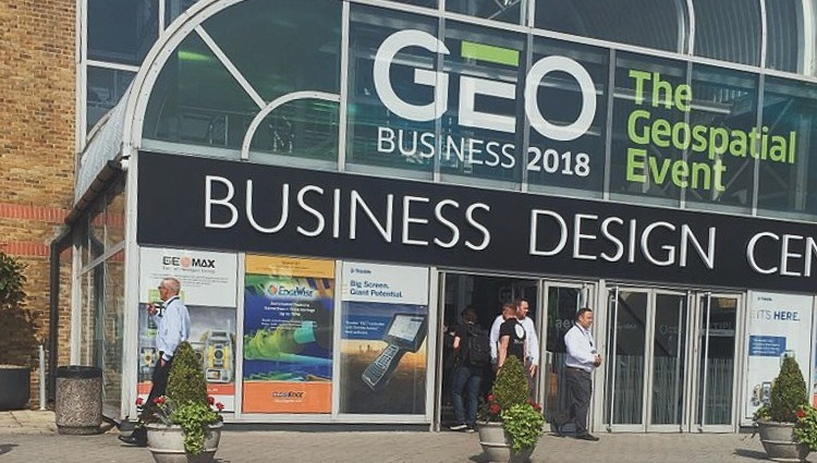 The OpenWeather team visited GEO Business Show 2018