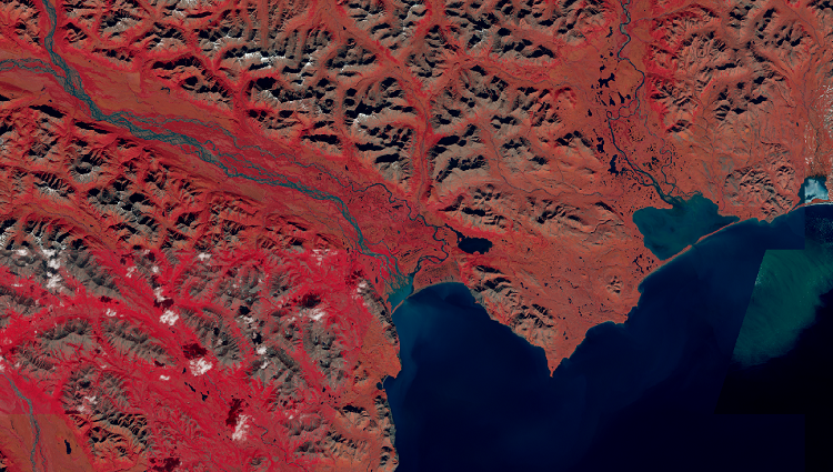 Satellite imagery: Landsat 8 and its Band Combinations