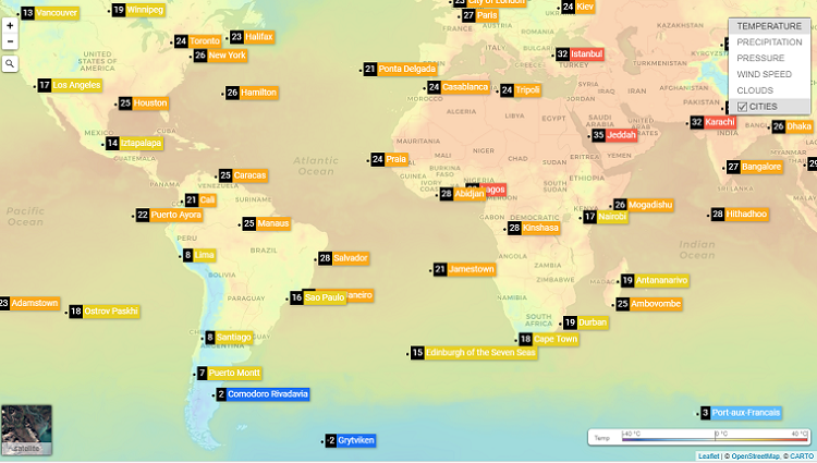 Weather Los Angeles Map.Weather Maps Api Updated